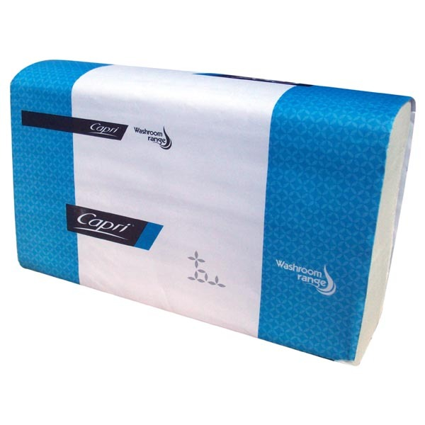 Capri Slimfold Interleave Towel 4000 Sheet Bulk Carton