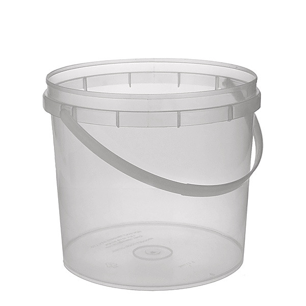 Food Bucket With Handle 5l Clear