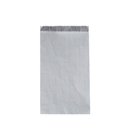 Large Plain White Foil Lined Bag Carton Of 250