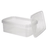Rect 1.2L Tamper Evident Container Set