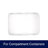 Compartment Takeaway Container Lids