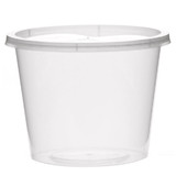 25oz Takeaway Containers + Lids