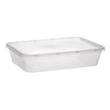 500mL Takeaway Containers + Lids