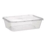 650mL Takeaway Containers + Lids