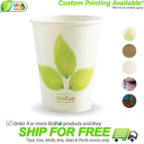 BioPak Single Wall 12oz Paper BioCup