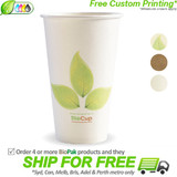 BioPak Single Wall 16oz Paper BioCup