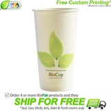 BioPak Single Wall 20oz Paper BioCup