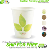 BioPak Single Wall 8oz Paper BioCup