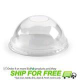 BioPak Dome Bio Hole Lid For 300-700mL BioCups