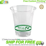 BioPak 360mL Clear Bioplastic Branded Cup