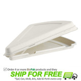 BioPak Pizza Slice Clamshell