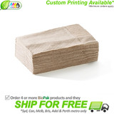 BioPak 1 Ply Compact Dispenser Napkin - Natural