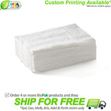 BioPak 1 Ply Compact Dispenser Napkin - White