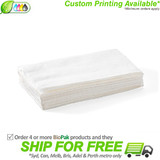 BioPak 1 Ply Single Saver BioDispenser Napkin - White