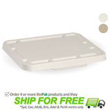 BioPak Bio Lid For 2 and 3 Compartment Takeaway Containers