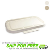 BioPak Bio Lid For 750-1000mL Takeaway Containers
