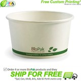 BioPak 12oz Hot and Cold Paper Bowls