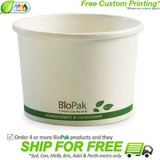 BioPak 16oz Hot and Cold Paper Bowls
