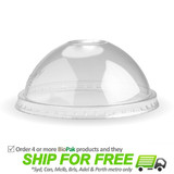 BioPak Clear Dome Lid For 12oz-32oz Paper Bowls
