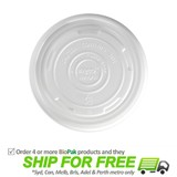 BioPak Compostable Lid For 12oz-32oz Paper Bowls