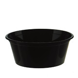 Black 10oz Takeaway Container Bases