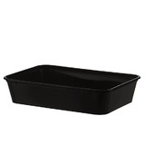 Black 500mL Takeaway Container Bases