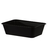 Black 650mL Takeaway Container Bases