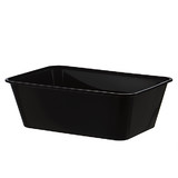Black 750mL Takeaway Container Bases