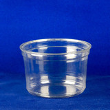 455mL Clear PET Deli Container Bases