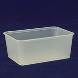 Freezer Grade 1000mL Takeaway Container Bases