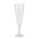 Single Piece 140mL Classic Champagne Flute