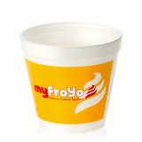 20oz Custom Printed Foam Food Container 25,000s