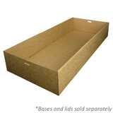 Brown Enviroboard Catering Tray 3 Bases