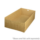 Brown Enviroboard Catering Tray 4 Bases