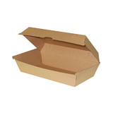 Brown Enviroboard Large Snack Box