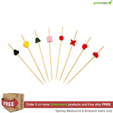 Greenmark Mixed Art Skewers 120mm