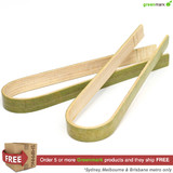 Greenmark Bamboo Tongs 90mm