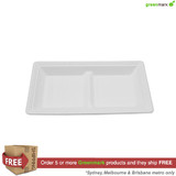 Greenmark 6x11 Long Plate - 2 Compartments