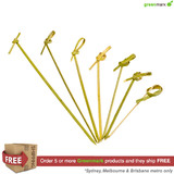 Greenmark Bamboo Looped Skewer 80mm