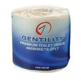 Gentility Wrapped 400s 2 Ply Toilet Paper