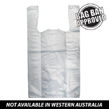 Jumbo Plastic Carry Bag White