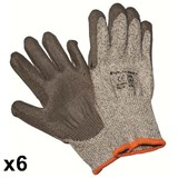 Large Steel Drill Stealth Razor 5 Work Glove
