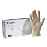 Clear Vinyl Gloves - Powder Free (L)