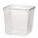 Square 4L Takeaway Container with Lid