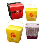Printed Noodle Boxes 16oz With Handle