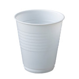 6oz White Plastic Cup 180mL