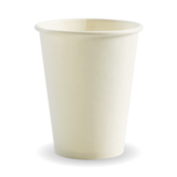 Budget White 12oz Paper Coffee Cup