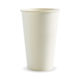 Budget White 16oz Paper Coffee Cup