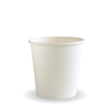 Budget White 4oz Paper Coffee Cup