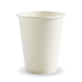 Budget White 8oz Paper Coffee Cup